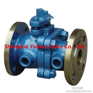 Fange End 4in PTFE Sleeve Plug Valve pictures & photos
