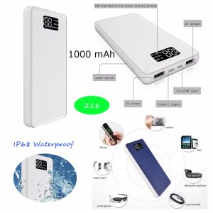 2017 Newest IP68 Waterproof Power Bank with 10000mAh Capacity Z10 pictures & photos