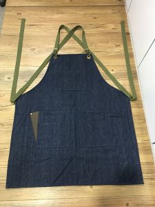 Custom Black Barber Denim Apron Wholesale Unisex pictures & photos