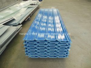 FRP Panel Corrugated Fiberglass Color Roofing Panels W172099 pictures & photos