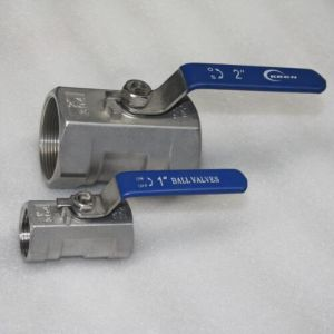 Stainless Steel 1000wog 1PC Ball Valve