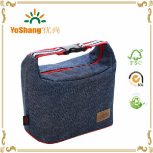 Portable Women Hangbag Picnic Bento Box Insulated Pack Drink Food Thermal Ice Cooler Leisure Accessories pictures & photos