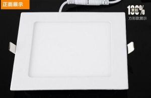 3W 6W 12W 18W 24W Aluminium LED Panel Light pictures & photos