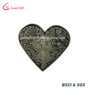 Unique Design Heart Lapel Pins Wholesale pictures & photos