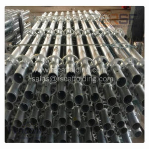 Tubular Steel Ringlock Scaffolding Mainly for Bridge Building Scaffolding Parts pictures & photos