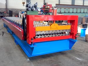Xdl Single Layer Corrugated Roll Forming Machine Made in China pictures & photos