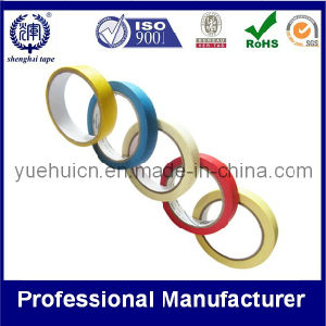 High Temperature Cheap Colorful Printed Crepe Masking Tape pictures & photos