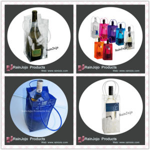 PVC Wine Cooler Bag, Custom Plastic Wine Bags pictures & photos