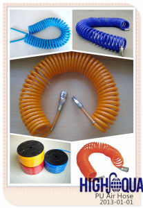 Colorful High Quality PU Coil Hose China Manufacturer pictures & photos