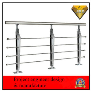 Stainless Steel Stair Railing Engineer Project Design pictures & photos