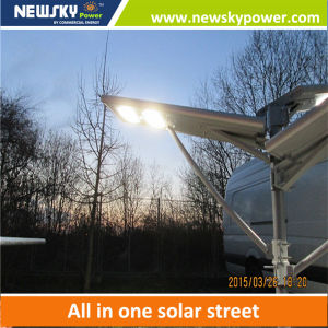 High Quality 50W Solar PV LED Street Light pictures & photos