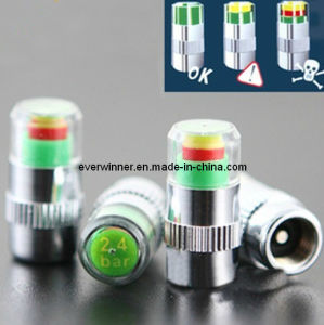 Tire Tyre Pressure Monitor Valve Stem Cap Sensor Indicator 28-36 Psi Eye Alert pictures & photos
