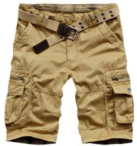 Men′s Fashion Pants Casual Pocket Overall Cargo Shorts pictures & photos