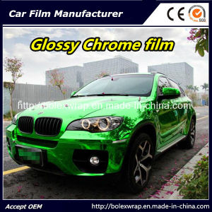 Green Glossy Chrome Film Car Vinyl Wrap Vinyl Film for Car Wrapping Car Wrap Vinyl pictures & photos