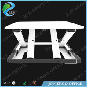 Super Slim Gas Lifting Height Adjustable Sit Stand Desk (JN-LD04) pictures & photos