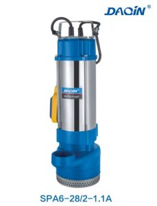 SPA Series Stainless Steel Submersible Sewage Water Pump pictures & photos