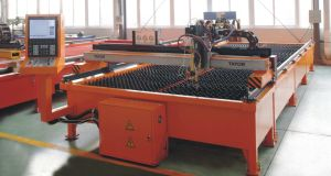 Bench Type CNC Plasma Cutting Machine 1500X3000 Cutting Area 20mm Cutting Thickness pictures & photos