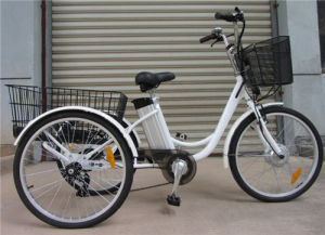 Hot Sale 250W Electric Tricycle for Older pictures & photos