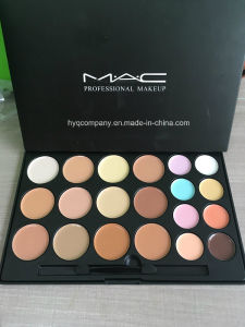 Professional Makeup Mac 20 Colors Concealer Palette with Brush pictures & photos