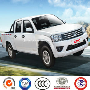 4X4 Petrol /Gasoline Double Cabin Pick up (Extended Cargo Box, Deluxe) pictures & photos