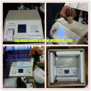 Gd-17040 Automatic Energy Dispersive Xrf Total Sulfur Analyzer ASTM D4294 pictures & photos