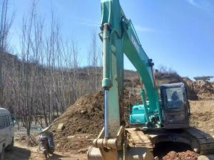 Very Good Working Condition Used Crawler Excavator Kobelco Sk210-8 (made in 2010) for Sale pictures & photos