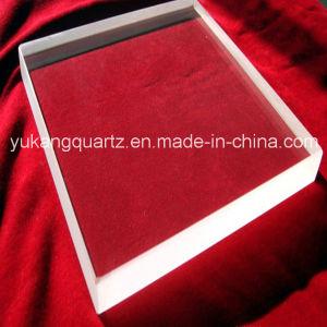 Square Polished Transparent Quartz Silica Plate pictures & photos