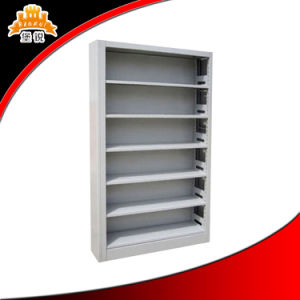 Steel 4 Shelves Book Rack pictures & photos
