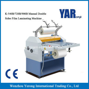 Factory Price K Series Manual Double Sides Film Laminating Machine with Ce pictures & photos