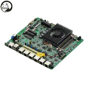 Firewall Appliance Motherboard with 6 LAN DC, Processor 3855u 1.6GHz Dual Core Processor pictures & photos
