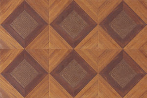 12.3mm Composite Art Parquet Wood Laminate Floor pictures & photos
