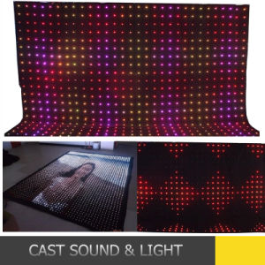 Customizer P9 Vision Curtain / LED Video Curtain for Stage Backdrops pictures & photos