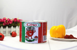 70g, 210g, 400 G 2200g Canned Gino Tomato Paste for West Africa pictures & photos