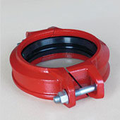 Grooved Angle Bolt Pad Coupling