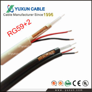 CCTV Camera Used Rg59+2c Power CCTV Cable