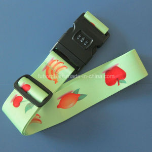 Customized Heat Transfer Printing Polyester Luggage/Suitcase Strap pictures & photos