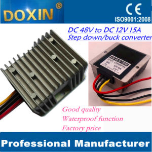 Step Down Power Converter DC 48V to DC 12V 15A Waterproof pictures & photos