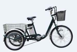 Low Price China Electric Pedal Assisted Cargo Tricycle for Adults pictures & photos