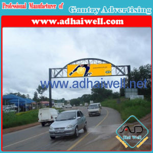 Gantry Billboard Advertising Display Structure (W18 x H4) pictures & photos