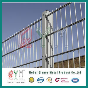 Double Wire Security Fence / Galvanized Welded Double Wire Fence pictures & photos