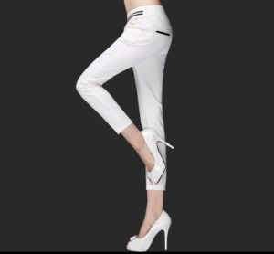 Hot Sale Long Style Fashion Casual Pants for Lady pictures & photos