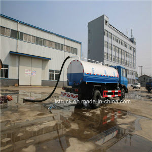 Dongfeng 4*2 8000-10000 Liters Fecal Suction Truck pictures & photos