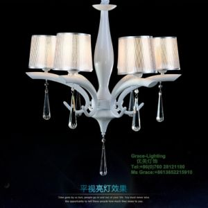 Beautiful Quality Modern Crystal Chandelier for Living Rooms (GD-170-6) pictures & photos