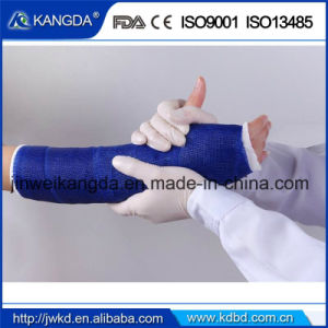 FDA Ce Certificated Polyester Casting Tape Fiber Glass Casting Tape pictures & photos