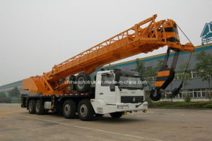 China Best HOWO Mobile Truck Crane Qy70u of 70tons pictures & photos