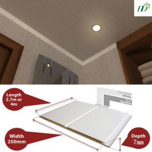 Light Weight China Manufacturer PVC Ceiling Panel Decoration Panel pictures & photos