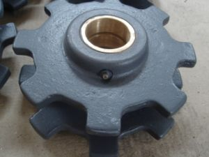 Sand Casting Sprocket Wheel with Machining pictures & photos