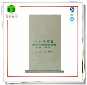 Citric Acid Seam Bottom Bag Sewn Open Mouth Bag 25kg pictures & photos