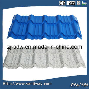 Corrugated Color Coated Steel Roofing Sheet pictures & photos