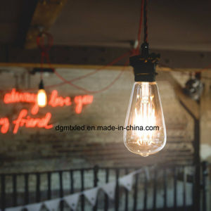 Filament glass housing LED clear bulb e27, 3W pictures & photos